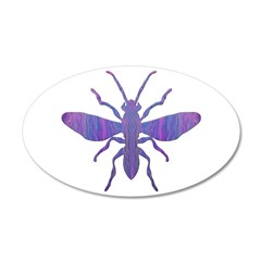 The Fly! 22x14 Oval Wall Peel