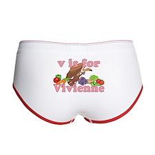 V is for Vivienne Women's Boy Brief