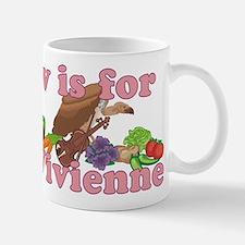V is for Vivienne Mug