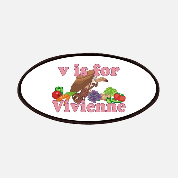 V is for Vivienne Patches
