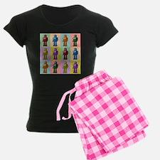 Pop Art Robots Pajamas