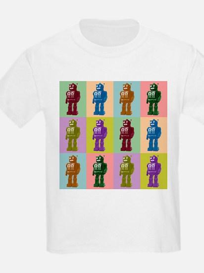 Pop Art Robots T-Shirt