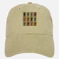 Pop Art Robots Baseball Baseball Cap