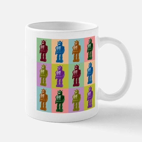 Pop Art Robots Coffee Mug
