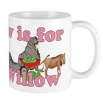 W is for Willow Mug