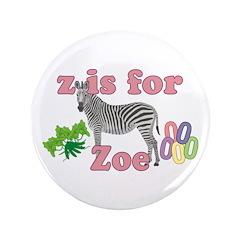 Z is for Zoe 3.5