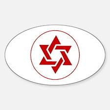 MDA Star Sticker (Oval)