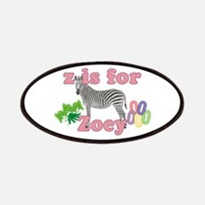Z is for Zoey Patches