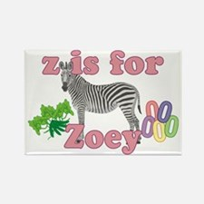Z is for Zoey Rectangle Magnet