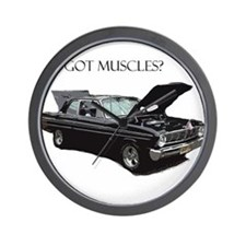 Got Muscles Wall Clock