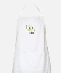 1st Time Aunts Club (Green) Apron