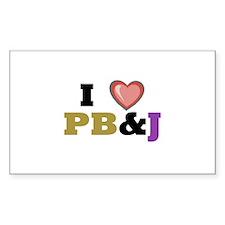 P B & J Decal