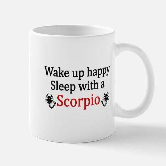 Sleep with a Scorpio Mugs