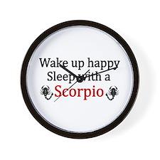 Cute Scorpio Wall Clock