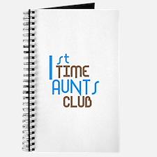 1st Time Aunts Club (Blue) Journal