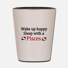 Funny Pisces Shot Glass