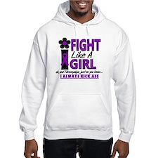 Fight Like A Girl Fibromyalgia Hoodie