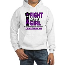 Licensed Fight Like a Girl 1.2 F Hoodie