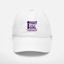 Licensed Fight Like a Girl 1.2 Fibromyalgia Baseball Baseball Cap
