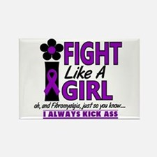 Licensed Fight Like a Girl 1.2 Fi Rectangle Magnet