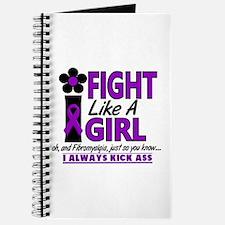 Licensed Fight Like a Girl 1.2 Fibromyalgi Journal