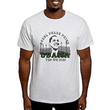 Obama Peace Prize Windmills T-Shirt