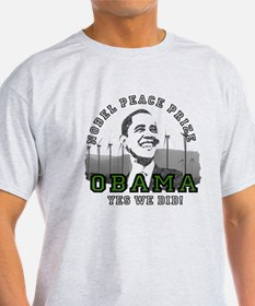 Obama Peace Prize Windmills T-Shirt