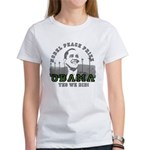 Obama Peace Prize Windmills Women's T-Shirt