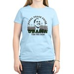 Obama Peace Prize Windmills Women's Light T-Shirt