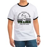 Obama Peace Prize Windmills Ringer T