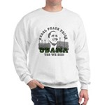 Obama Peace Prize Windmills Sweatshirt