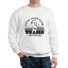 Obama Peace Prize Windmills Sweatshirt
