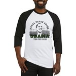 Obama Peace Prize Windmills Baseball Jersey