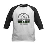 Obama Peace Prize Windmills Kids Baseball Jersey