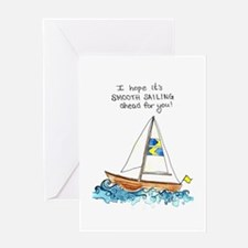 """""""Smooth Sailing"""" Get Well Soon Card"""