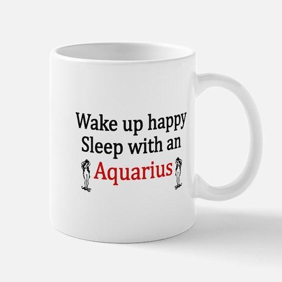 Sleep with a Aquarius copy Mugs