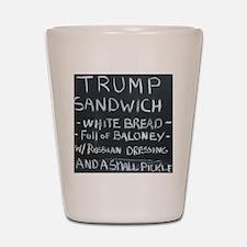 Trump Sandwich Shot Glass