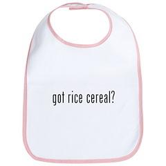 Got Rice Cereal? Bib