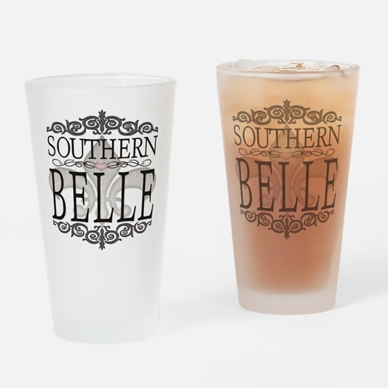 Southern Belle Hearts Pint Glass