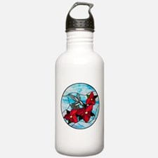 Stained Glass Design Water Bottle