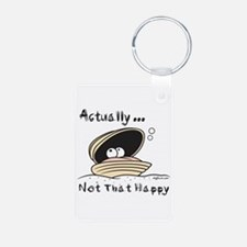 Not That Happy Clam Keychains