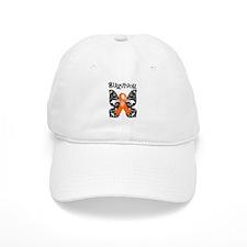 Butterfly Leukemia Survivor Baseball Cap