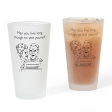Shit Yourself Pint Glass