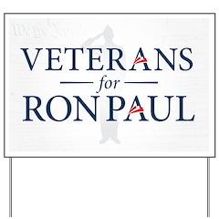 Veterans For Ron Paul Yard Sign