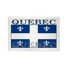 Quebec Quebecer Flag Rectangle Magnet