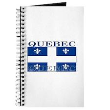 Quebec Quebecer Flag Journal