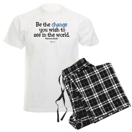 Be The Change Men's Light Pajamas