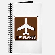 I Love Planes Journal