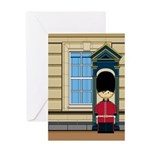 British Royal Guard Greeting Card