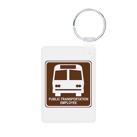 Public Transportation Employee Aluminum Photo Keyc